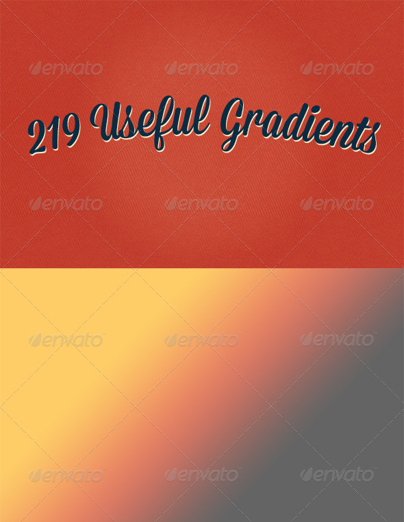 GraphicRiver Gradients Bundle 7079128