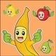 Fruits Thumbs Up - GraphicRiver Item for Sale