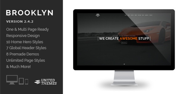 Brooklyn - Creative One Page Multi-Purpose Theme - Creative WordPress