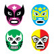 Wrestling Masks - GraphicRiver Item for Sale