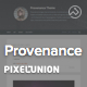 Provenance - ThemeForest Item for Sale