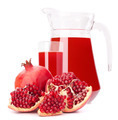 Pomegranate fruit juice in glass pitcher - PhotoDune Item for Sale