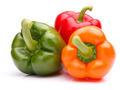 Sweet bell pepper isolated on white background cutout - PhotoDune Item for Sale