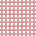 pattern from red shapes like laces - PhotoDune Item for Sale