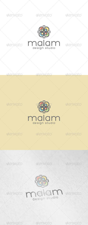 GraphicRiver Malam Logo 7086613