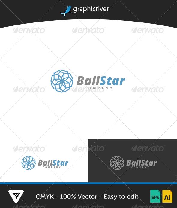 GraphicRiver BallStar Logo 7086704