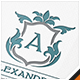 Alexandria Letter Crest Logo - GraphicRiver Item for Sale