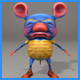 3D Stylized Rat Character - 3DOcean Item for Sale