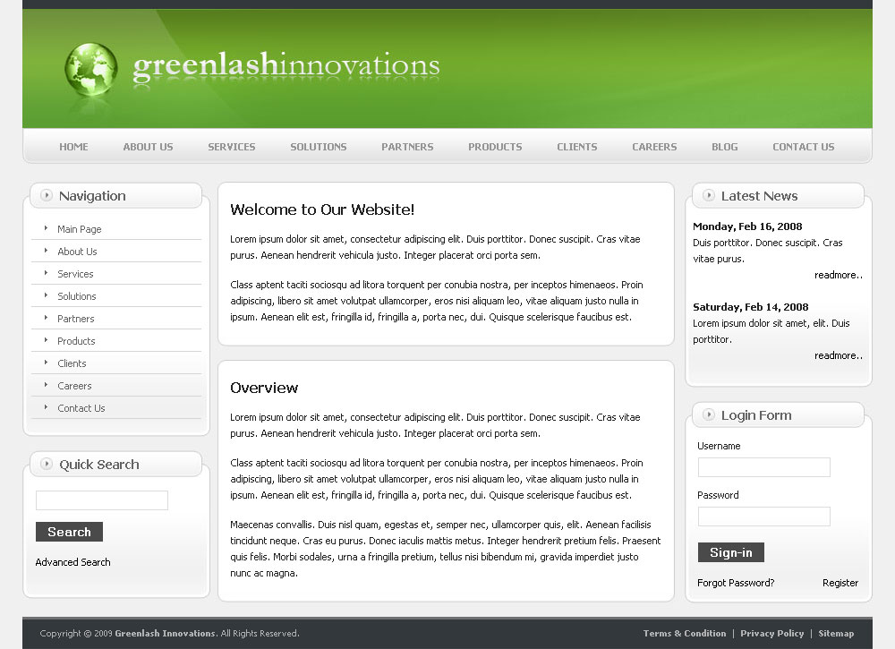 Greenlash Innovation - Home Page of Greenlash Innovation