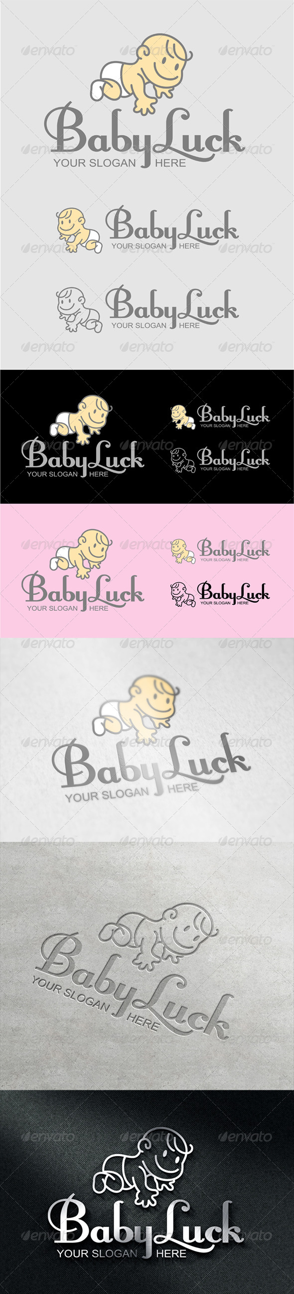 GraphicRiver BabyLuck Logo 7064595