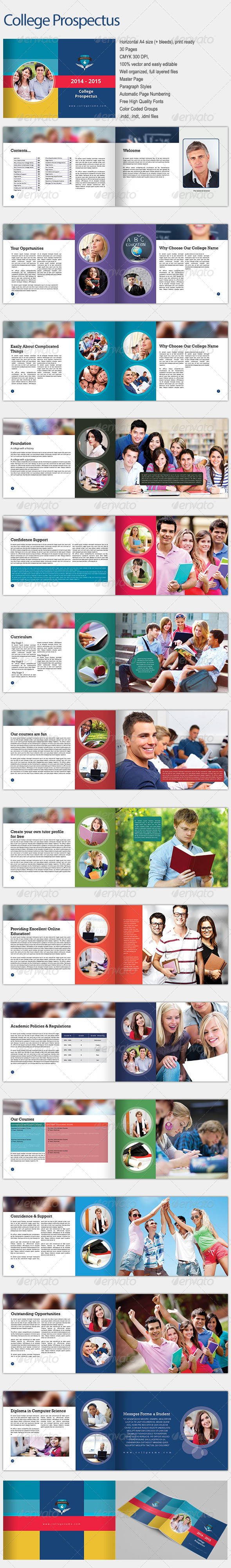 GraphicRiver College Prospectus 7087708
