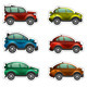 Toy Cars Stickers - GraphicRiver Item for Sale