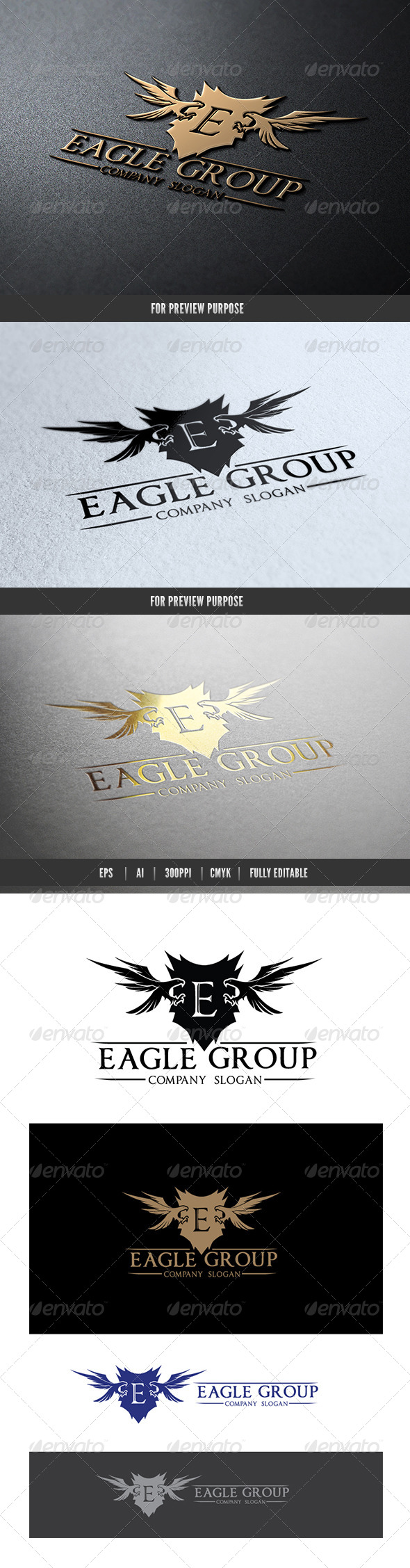 GraphicRiver Eagle Group 7089041