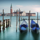 Gondolas on Grand Canal in front of San Giorgio Maggiore - PhotoDune Item for Sale