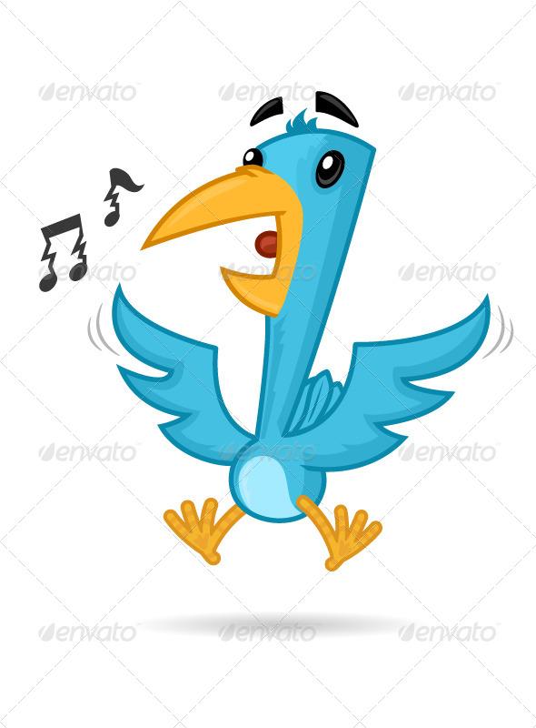 GraphicRiver Blue Bird 7091513