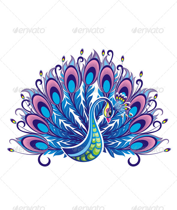GraphicRiver Peacock 7092703