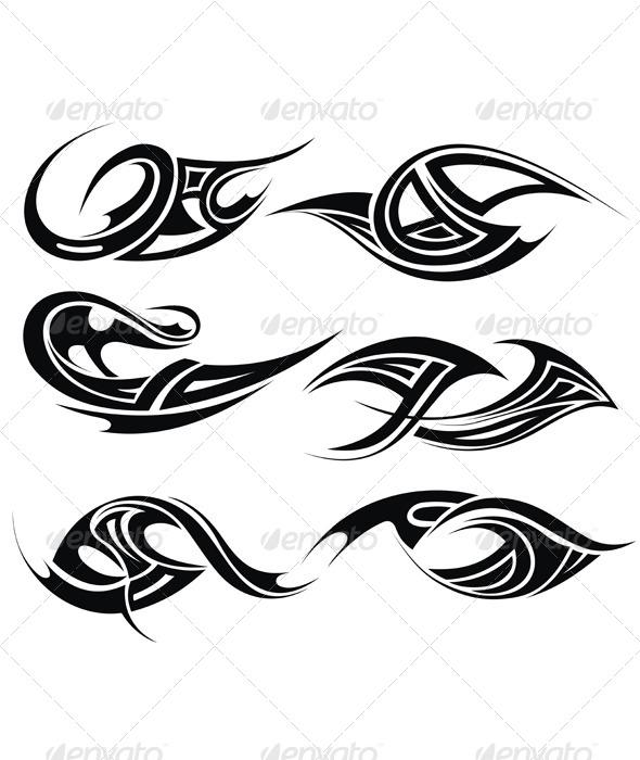 GraphicRiver Tribal Tattoo 7092837
