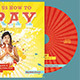 Teach us How to Pray CD Artwork Template - GraphicRiver Item for Sale