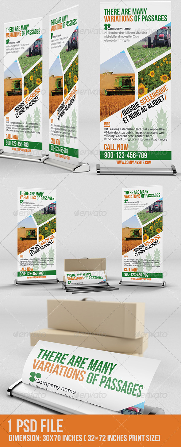 GraphicRiver Agriculture Roll-Up 7094663