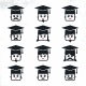 College Guy Smiley Characters - GraphicRiver Item for Sale