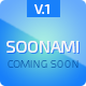 Soonami - Coming Soon Page - ThemeForest Item for Sale