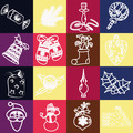 set of christmas icons vector - PhotoDune Item for Sale