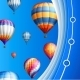 Business Background with Balloons - GraphicRiver Item for Sale