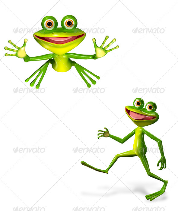 GraphicRiver Green Frog 7098956