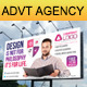 Advertising / Creative Agency Outdoor Billboard V2 - GraphicRiver Item for Sale