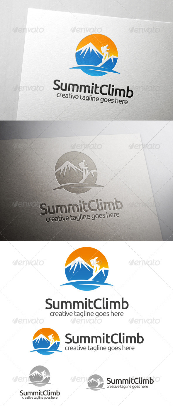 GraphicRiver Summit Climb Logo 7099131