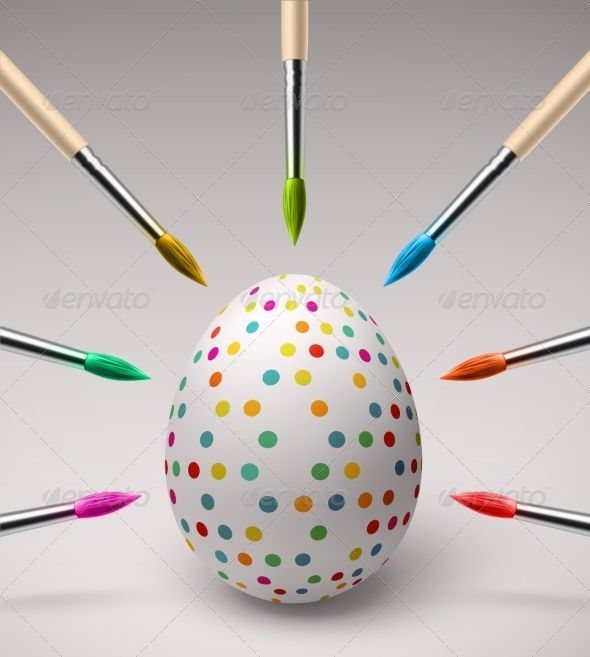 GraphicRiver Coloring Easter Eggs 7101795