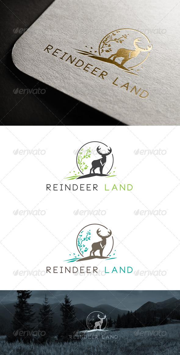 GraphicRiver Reindeer Land Logo Templates 7101999