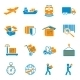 Shipping Delivery Icons Set - GraphicRiver Item for Sale