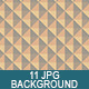 11 Poligons Backgrounds  - GraphicRiver Item for Sale