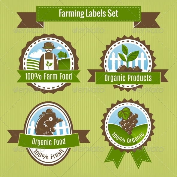 GraphicRiver Agriculture Badges 7103550