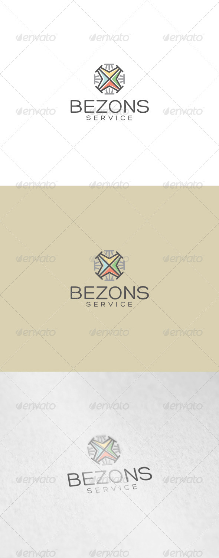 GraphicRiver Bezons Logo 7103761