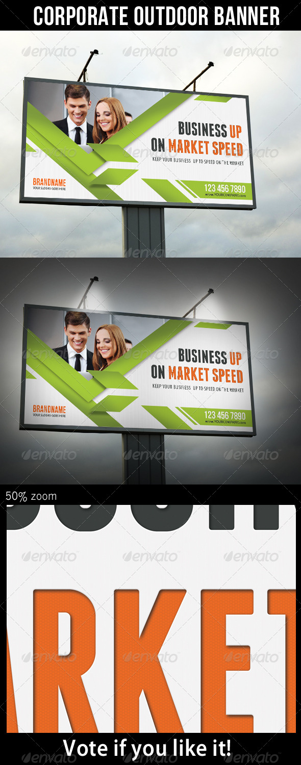GraphicRiver Corporate Outdoor Banner 30 7103898