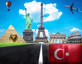 Travel the world conceptual image - Visit Turkey - PhotoDune Item for Sale