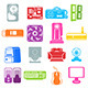 Computer Component Icons - GraphicRiver Item for Sale