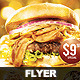 Flyer My Big Burger Special - GraphicRiver Item for Sale