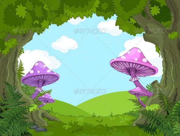 GraphicRiver Fantasy Landscape 7104684