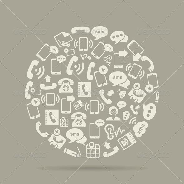 GraphicRiver Communication Circle 7105263