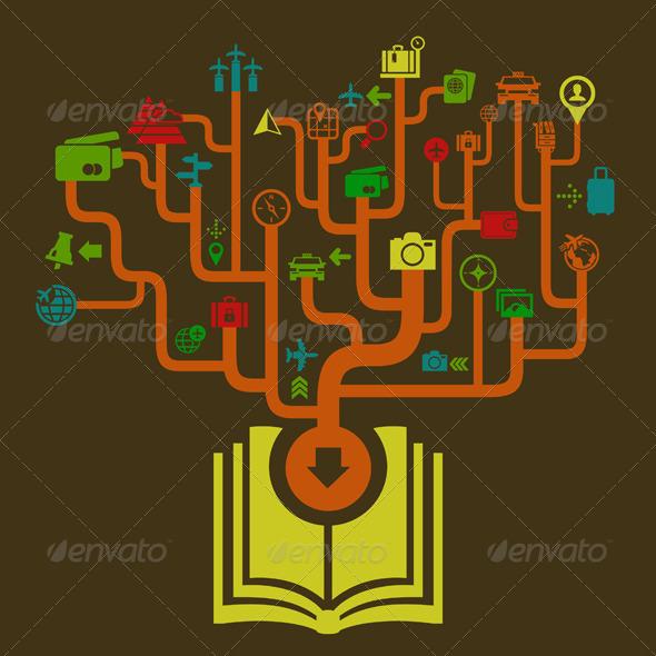 GraphicRiver Travel the Book 7106277