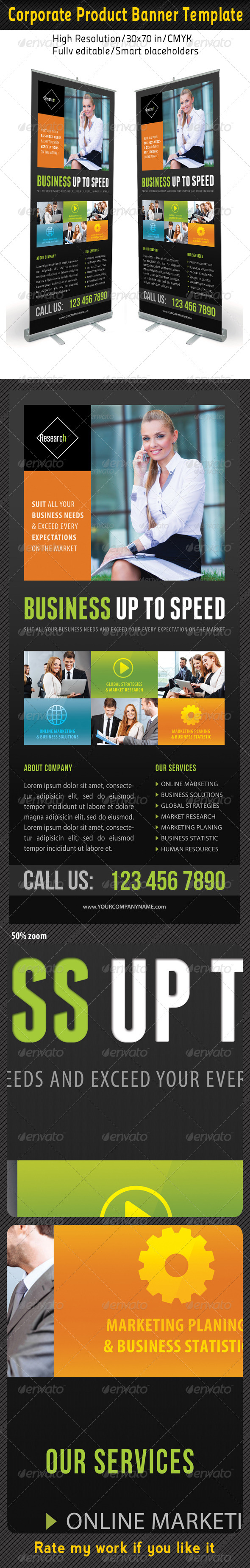 GraphicRiver Corporate Multipurpose Banner Template 48 7086639