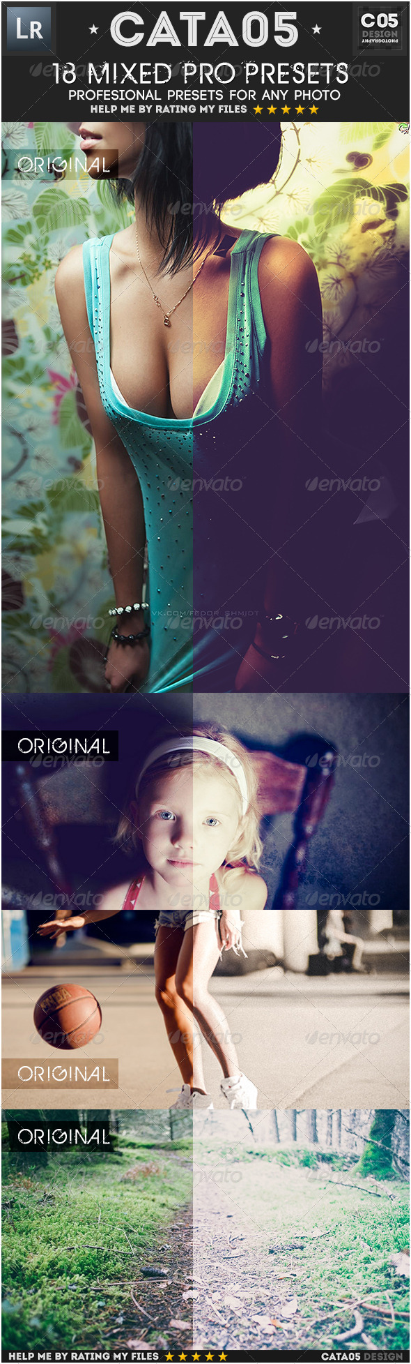 GraphicRiver 18 Mixed Pro Presets 7110191