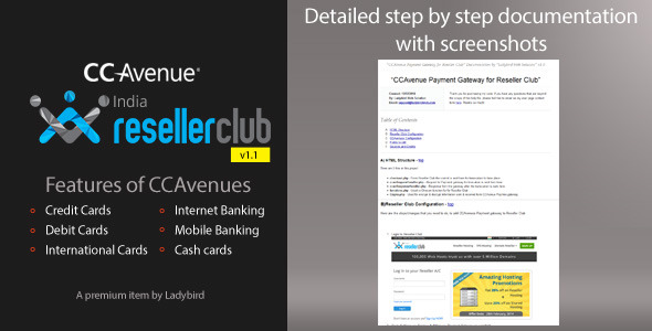 CodeCanyon CCAvenue Payment Gateway for Reseller Club 6858951