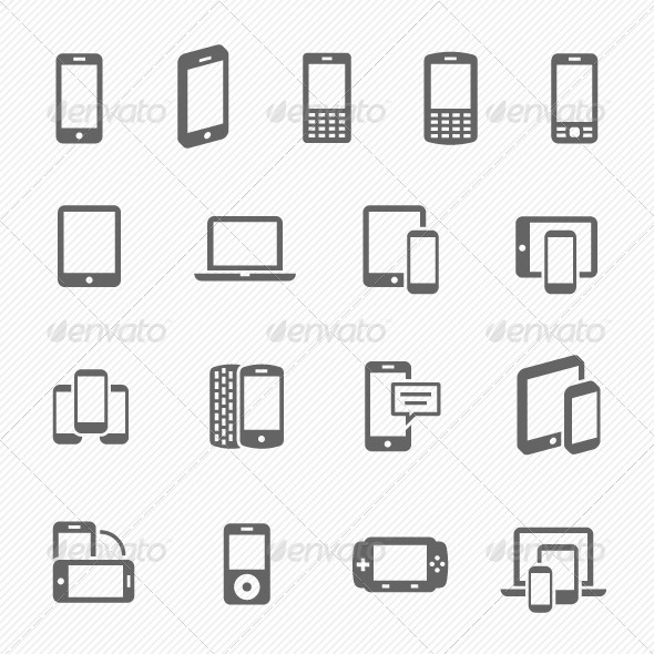 GraphicRiver Responsive Design Vector Icons 7087131