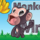 Cartoon Monkey. - GraphicRiver Item for Sale