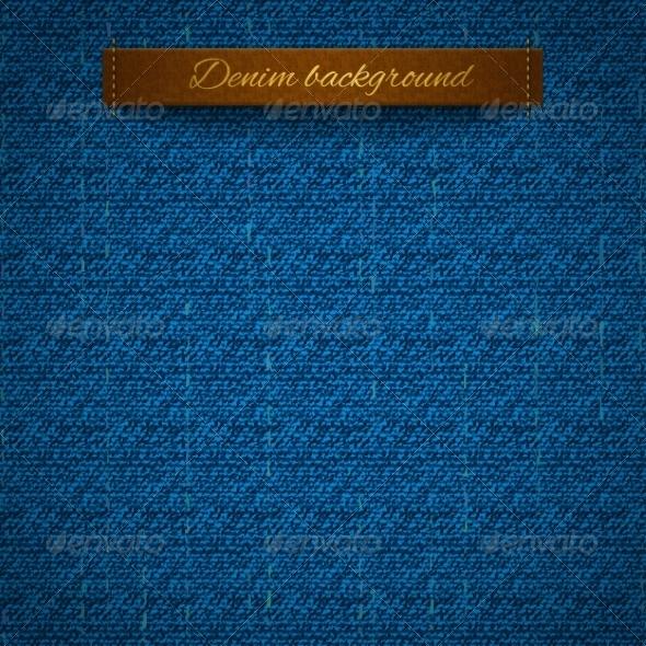 GraphicRiver Realistic Denim 7113023