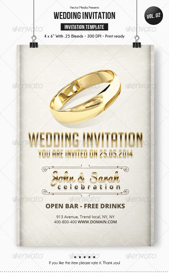 GraphicRiver Wedding Invitation [Vol.2] 7113288